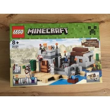 Lego minecraft 21121 Krakow śląskie opolskie