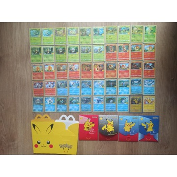 [Master Set 50/50] Karty Pokemon McDonald's 25th A