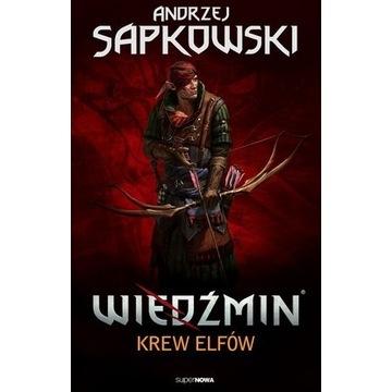 Andrzej Sapkowski WIEDŹMIN Tom 3 Krew Elfów