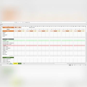 Szablon Excel - Budżet Domowy