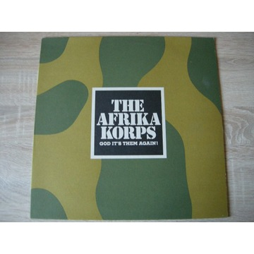 THE AFRICA CORPS- GOD ITS THEM AGAIN - LP