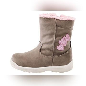 Lupilu buty dziewczęce ocieplane roz. 28