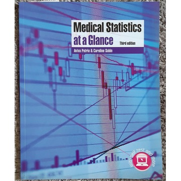 Medical Statistics at a Glance 3rd edition