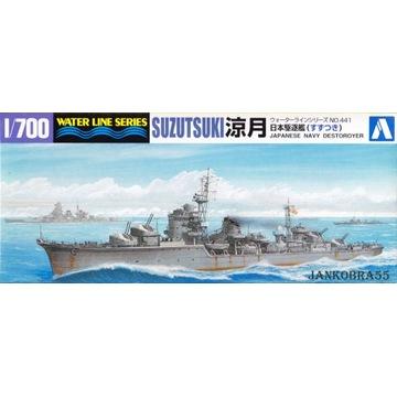 Japoński niszczyciel SUZUTSUKI