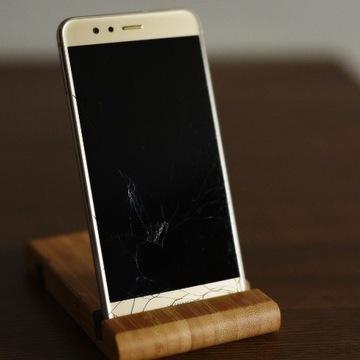Smartfon Huawei P10 lite - uszkodzony ekran