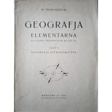 Geografia elementarna dla szkół średnich