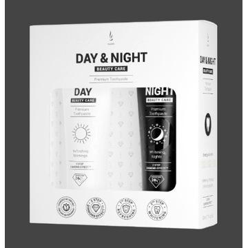 Zestaw past do zębów DuoLife Day & Night
