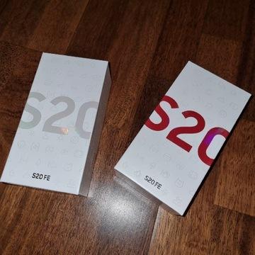 Samsung S20 FE 128GB biały i czerwony plomba x-kom