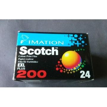 Klisza Film Color Scotch ISO 200 /24 exp negatyw