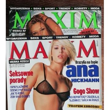 Maxim Forma 2001 2002