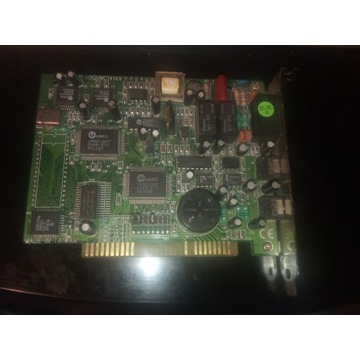 Modem ISA, UMC MU32PV, FCC ID: HBQUMC1414V, PN: 01