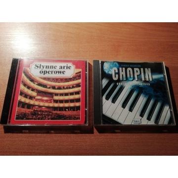 Słynne Arie Operowe / Chopin Geniusz Fortepianu CD