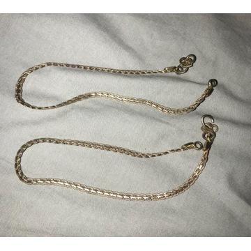 Indyjskie bransolety na kostke lancuszek na kostke