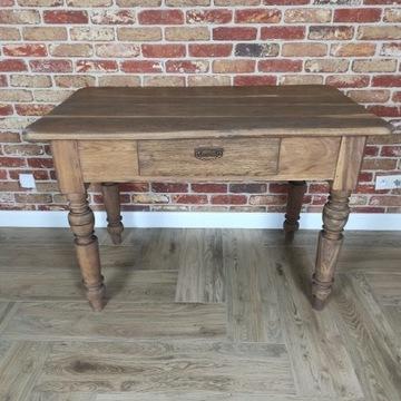 Stół biurko dębowy 123/74 lity dab