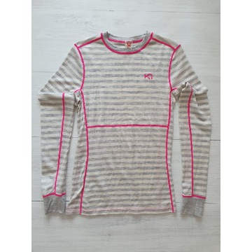 Kari Traa damska bluzka termiczna M 100% merino