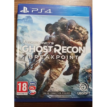 Gra PS4 Ghost Recon BREAKPOINT PL