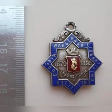 Żeton pamiątkowy Warszawskiego Towarzystwa Ubezpie