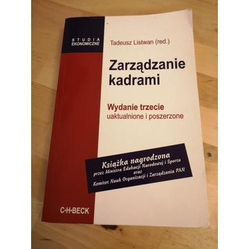 Zarządzanie kadrami - T. Listwan