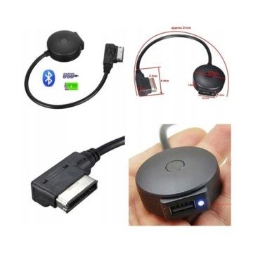 KABEL ZŁĄCZE ADAPTER AMI MMI BLUETOOTH USB AUDI VW