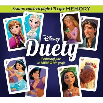 Disney duety (edycja z kartami memory) (CD)