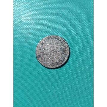 1 Silber groschen 1824 A