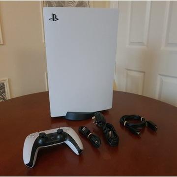 Konsola PlayStation 5 z napędem