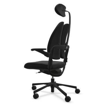 Ortopedyczny fotel obrotowy  do długiej pracy