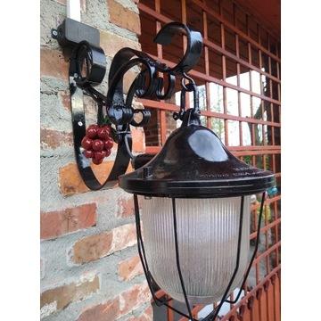Lampa ogrodowa loft.