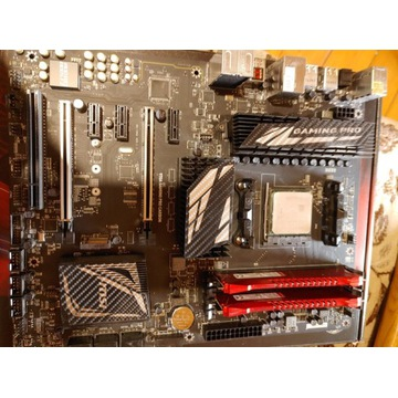 MSI 970A Gaming Pro Carbon +FX 8320 +16GB RAM