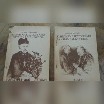 A. Micewski Kardynał Wyszyński  tom 1 i 2