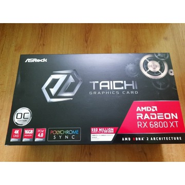 ASROCK Radeon RX6800XT Taichi OC 16GB