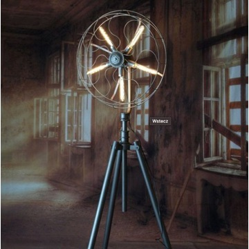 Designerska Lampa Stojąca a'la wiatrak Loft MCODO