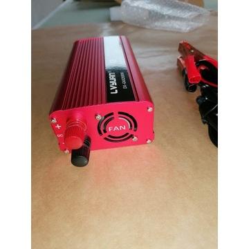 Falownik zmieniacz napięcia z 12 na 220 volt moc 2