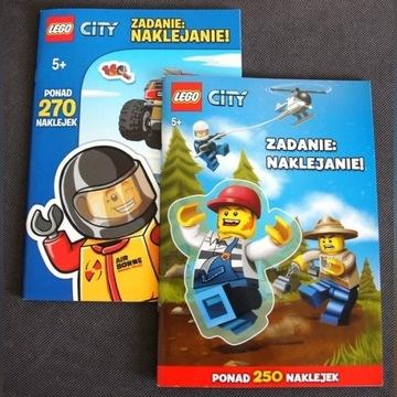 Naklejki Lego City