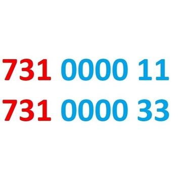 731 0000 11 i 731 0000 33 play dla dwojga