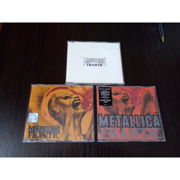 METALLICA - FRANTIC-3 CD PROMO