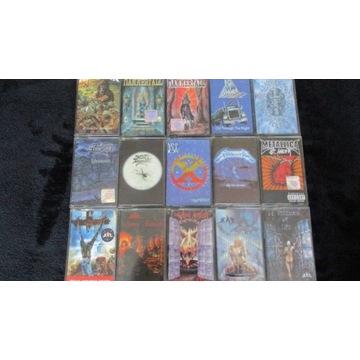 Zestaw kaset Heavy Metal, Metallica,Kat.Hamerfall