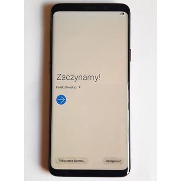 Smartfon Samsung Galaxy S9 Plus, fioletowy 64 GB