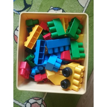 Klocki Wader - 150 sztuk z pudełkiem
