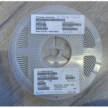 Kondensator ceramiczny AVX 12063C475KAT2A