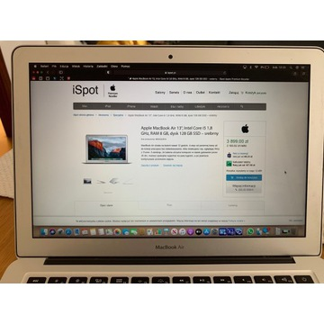 "Apple MacBook Air 13"", Intel Core i5 1,8"