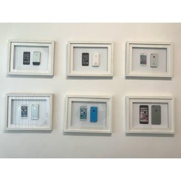 Apple Iphone 2g 3g 4 5 5 6 kolekcja