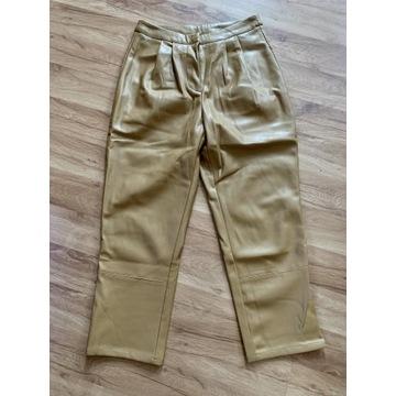 Spodnie skórzane ocieplane VERO MODA