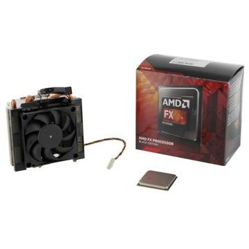 Processor CPU AMD FX8350 4GHz z chłodzeniem BE