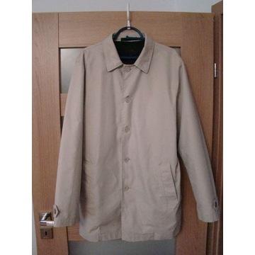 Płaszcz letni (beżowy) rozmiar L  - stan bdb