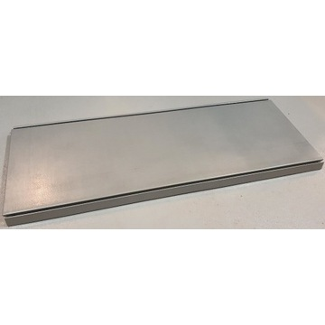 Tegometall półka metalowa do regału 37 cm 100 cm