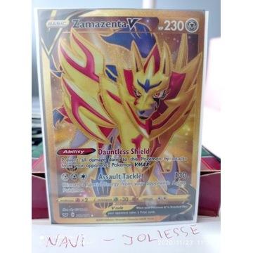 Zamazenta V Gold Secret  212/202 M/NM SWSH