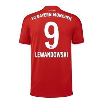 Koszulka LEWANDOWSKI 9! Bayern 20/21! S M L XL