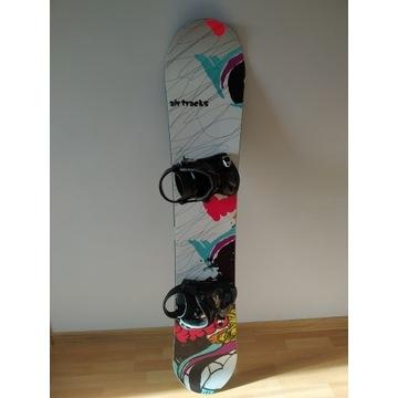Deska snowboardowa AirTracks 156cm + wiązania K2