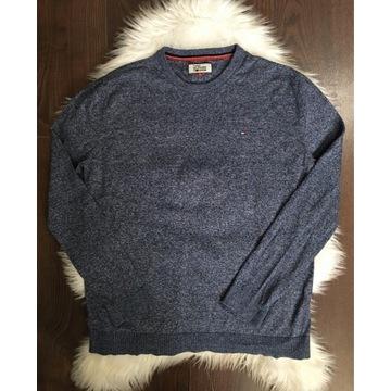 Niebieski sweter Tommy Hilfiger L